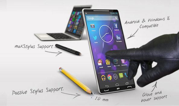 Atmel расширяет серию сенсорных контроллеров maXTouch T моделями для смартфонов и планшетофонов