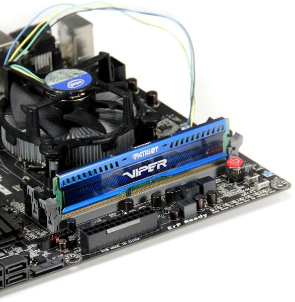 Представлены наборы низкопрофильных модулей памяти Patriot Viper 3 Low Profile