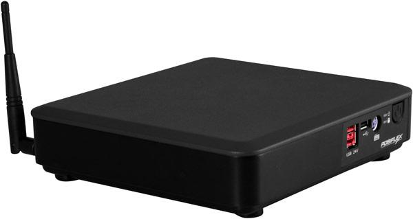 Наличие крепления VESA позволяет устанавливать TX4200E на задней стенке монитора или телевизора