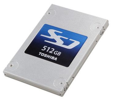 В серию Toshiba Q Series Pro вошли модели объемом 128, 256 и 512 ГБ