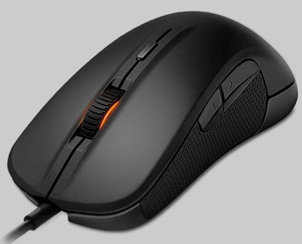 Оптическая мышь SteelSeries Rival предназначена для правшей