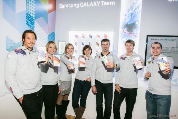 Samsung Note 3 олимпийские игры