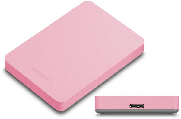 Внешние жесткие диски Buffalo HD-PNFU3 оснащены интерфейсом USB 3.0