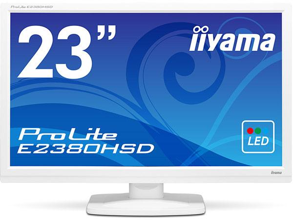 В мониторе iiyama ProLite E2380HSD используется панель типа TN