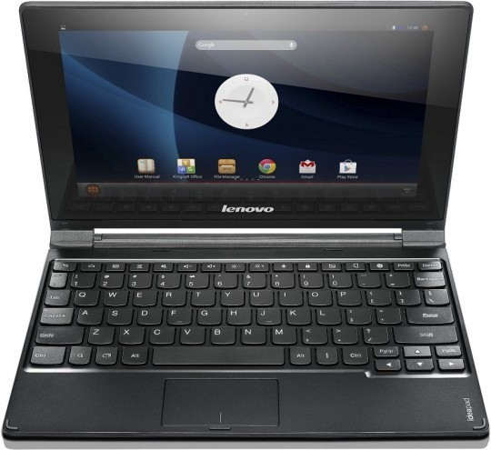 Ноутбук Lenovo IdeaPad A10 оснащен дисплеем размером 10,1 дюйма