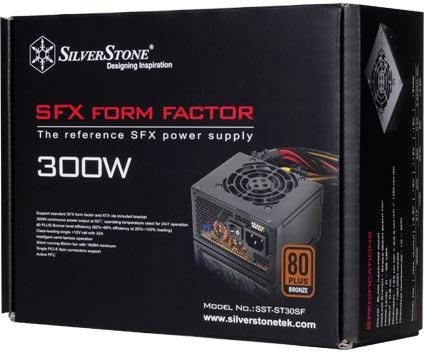 Мощность блока питания SilverStone ST30SF равна 300 Вт