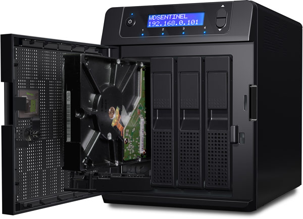 WD Sentinel DS5100 � DS6100 � ������� �� ��������� Intel