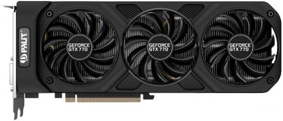 ������� ������� GPU Palit GeForce GTX 770 OC ���������� 1085 ���
