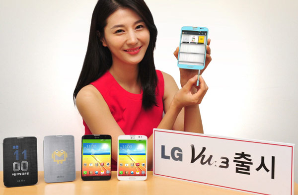 ������� ��������� LG Vu 3 ������ SoC Qualcomm Snapdragon 800