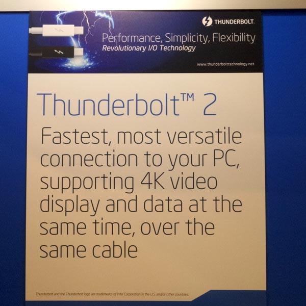 ����� Thunderbolt 2 ��� ����� ��������� �� ��������� ������