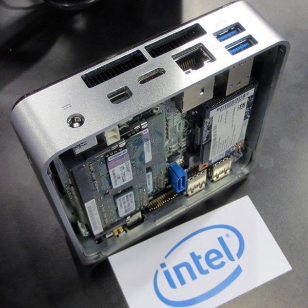 Компьютер Intel NUC стал меньше