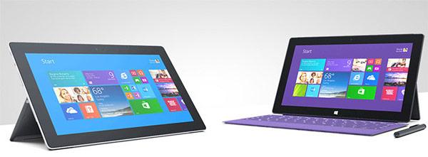 Представлены планшеты Microsoft Surface 2 и Microsoft Surface Pro 2