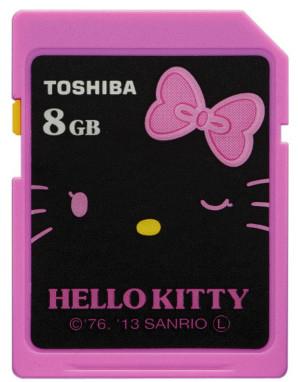 Карточка Toshiba SD-H08GKT объемом 8 ГБ соответствует скоростному классу Class 10