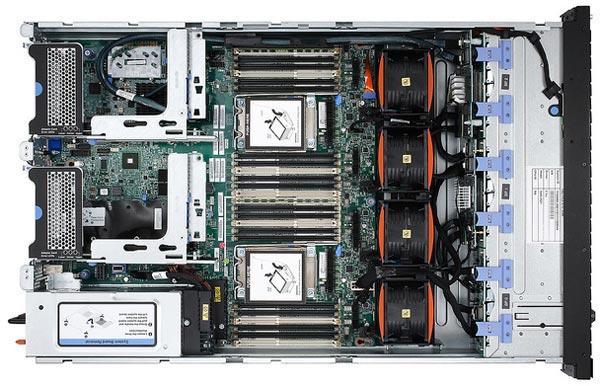 Кроме того, представлена система IBM x3650 M4 HD