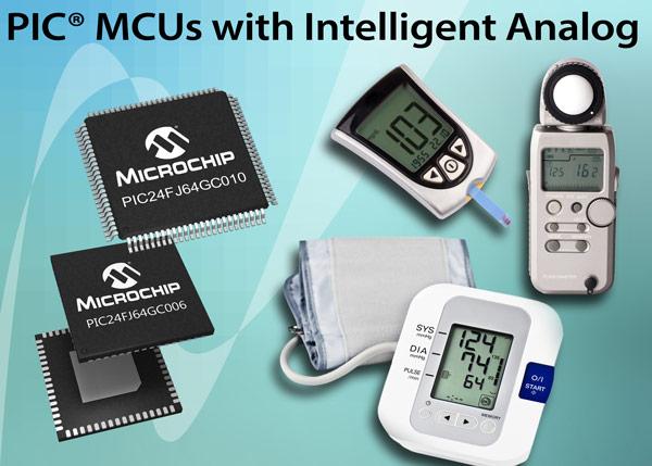 Микроконтроллеры семейства PIC24FJ128GC010 уже доступны