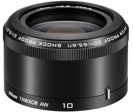 Комплект Nikon 1 AW1 с объективами 1 Nikkor AW 11-27.5mm f/3.5-5.6 и 1 Nikkor AW 10mm f/2.8 стоит $1000