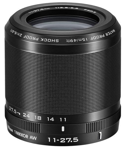 Комплект Nikon 1 AW1 с объективом 1 Nikkor AW 11-27.5mm f/3.5-5.6 стоит $800