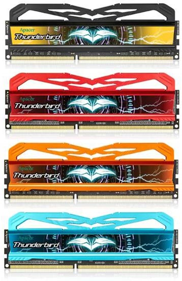 Серия модулей памяти Apacer Thunderbird ориентирована на энтузиастов разгона