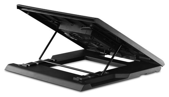Подставка Cooler Master NotePal ErgoStand Easy рассчитана на ноутбуки с экраном размером до 15,6 дюйма по диагонали