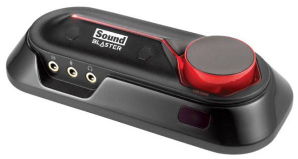 Одновременно представлены звуковые карты Sound Blaster Audigy Rx и Sound Blaster Audigy Fx
