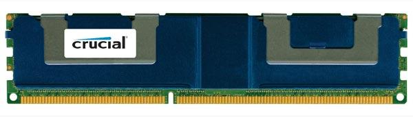 Модули Crucial DDR3L LRDIMM объемом 64 ГБ позволяют удвоить объем памяти сервера