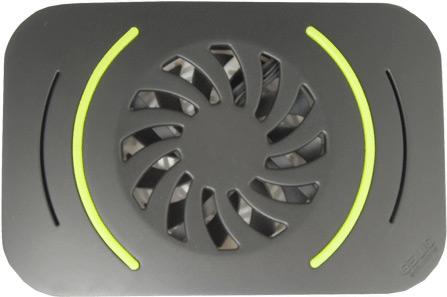 В охлаждающей подставке Gelid IcyPad используется 80-миллиметровый вентилятор