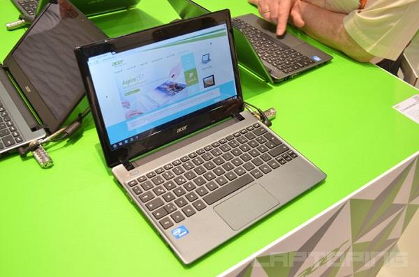 Обновленная версия портативного ноутбука Acer C710 получит двухъядерный процессор Intel Celeron 1007U