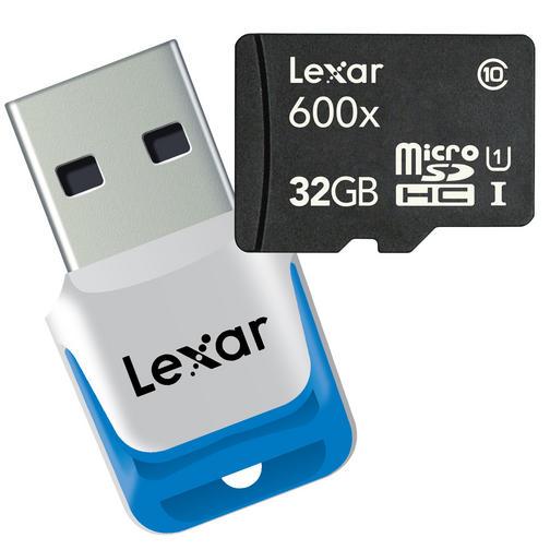 Lexar microSDXC UHS-I 64 ГБ (600x)