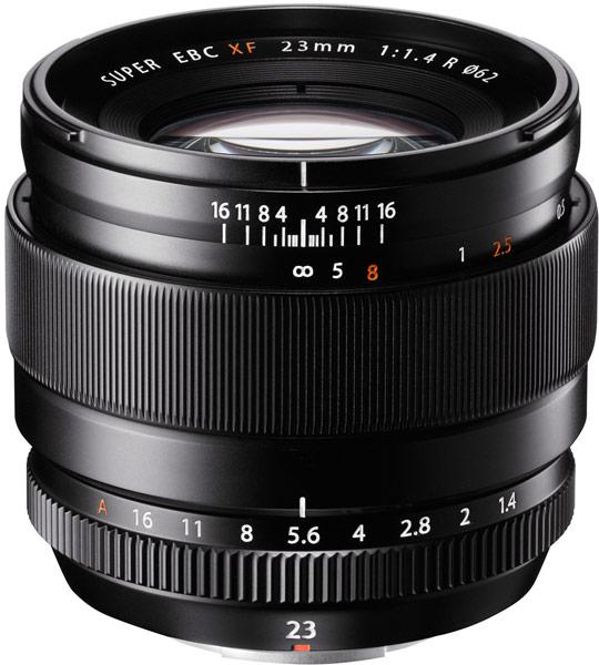 Широкоугольный объектив Fujinon XF23mm F1.4 R предназначен для камер Fujifilm X