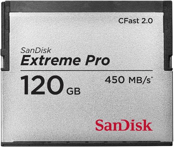 SanDisk выпускает первую в мире карту памяти CFast 2.0