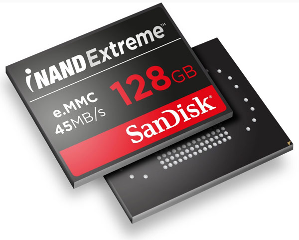 ������������ ������ SSD iNAND Extreme ������� �� 128 ��