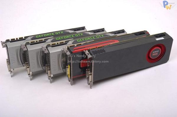 ���������� ���������������� ������������ AMD Hawaii R9-290X �� ��������� ������ Nvidia GeForce GTX Titan