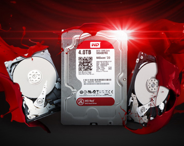 Линейку жестких дисков wd red для