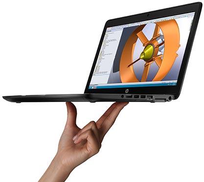 HP ZBook 14 — первый в мире ультрабук, отнесенный к категории рабочих станций