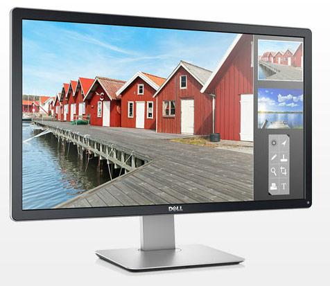 ������� Dell P2714H ������� ������� DVI-D, VGA � DisplayPort