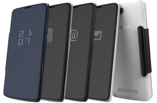 Крышки для смартфона Alcatel One Touch Hero предложены в виде опции