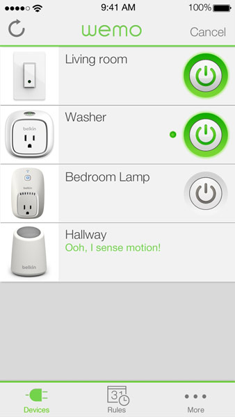 Цена WeMo Insight Switch (F7C029) — $60