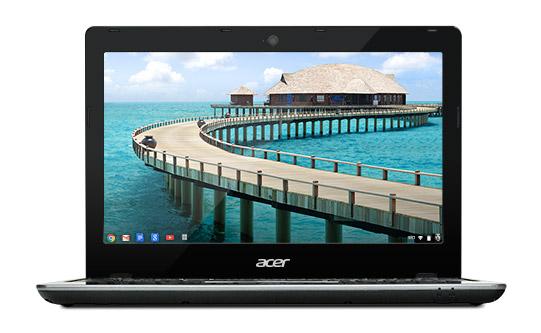Новый хромбук Acer C7 (C720) получит модификацию с сенсорным экраном