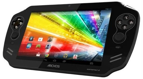 Компания Archos готовит к выпуску игровой планшет Archos GamePad 2