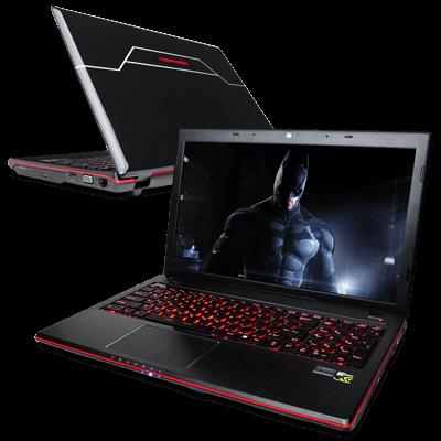 ������� ������� ��������� CyberPowerPC FANGbook Evo HX6 �������� ������������ Intel Core i7 (Haswell)