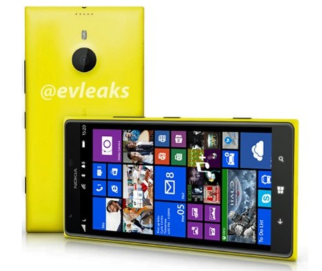 Шестидюймовый планшетофон Nokia Lumia 1520 будет анонсирован 26 сентября