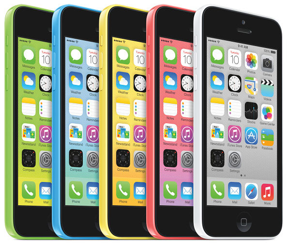 Смартфон Apple iPhone 5c построен на процессоре Apple A6