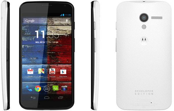 Смартфон Moto X Developer Edition для сети Verizon стоит $650