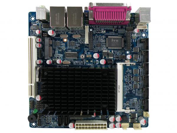 Системная плата Acrosser AMB-D255T3 оснащена одним слотом для модулей оперативной памяти DDR3 SO-DIMM