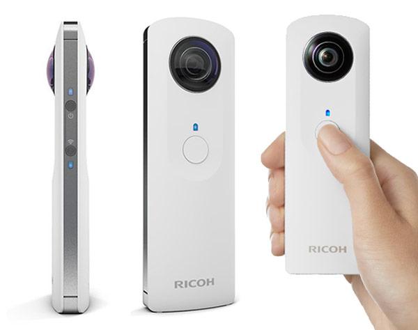 Панорамная камера Ricoh Theta стоит 399 долларов