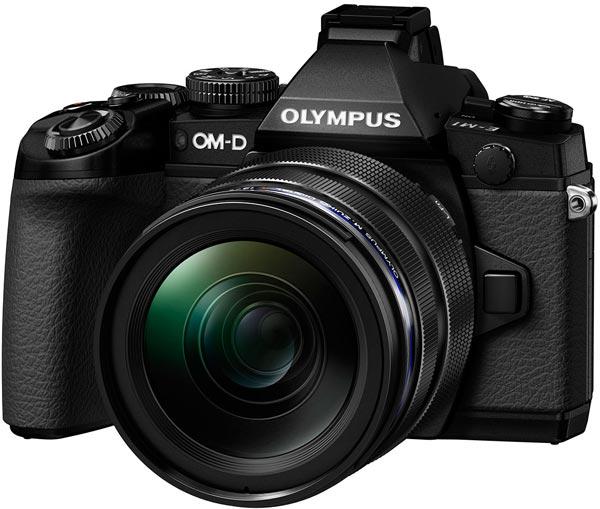 В продаже камера Olympus OM-D E-M1 появится в октябре 2013 года по цене $1400