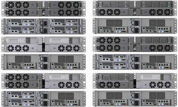 Замена процессоров на Intel Xeon E5-2600 позволила увеличить число ядер на 50%