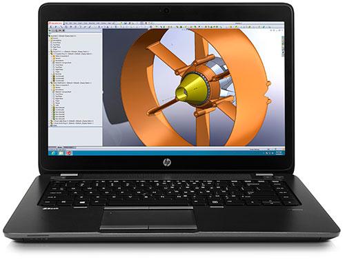 HP ZBook 14 � ������ � ���� ���������, ���������� � ��������� ������� �������
