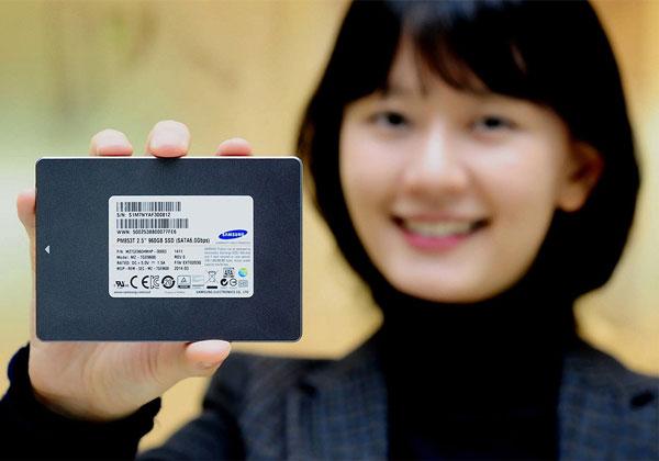 Начат выпуск корпоративных SSD Samsung PM853T на базе флэш-памяти NAND, хранящей по три бита информации в каждой ячейке
