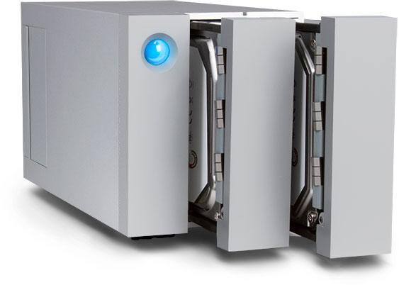 Хранилища LaCie 2big с интерфейсом Thunderbolt 2 будут доступны в этом квартале в вариантах объемом 6, 8 и 12 ТБ